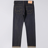 EDWIN Ed-55 Regular Tapered BLUE (UNWASHED)