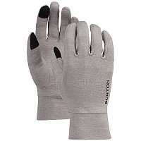 Burton TOUCHSCREEN LINER GRAY HEATHER