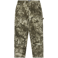 Stussy DYED WORK PANT Olive
