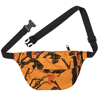 Carhartt WIP PAYTON HIP BAG CAMO TREE, ORANGE / BLACK