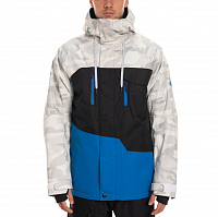 686 MNS GEO INSULATED JACKET STRATA BLUE COLORBLOCK