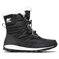Sorel YOUTH WHITNEY  SHORT LAC Black, Sea Salt