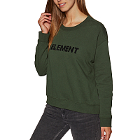 Element LOGO CREW FLEECE Olive Drab