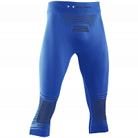 X-Bionic ENERGIZER 4.0 PANTS 3/4 MEN TEAL BLUE/ANTHRACITE