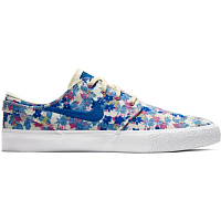 Nike ZOOM JANOSKI CNVS RM PRM FOSSIL/TEAM ROYAL-FOSSIL-FIRE PINK