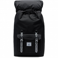 Herschel Little America Mid-Volume BLACK/CHECKERBOARD